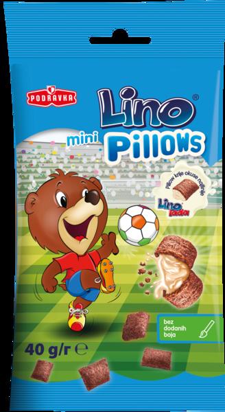 Lino mini pillows filled with Lino lada milk
