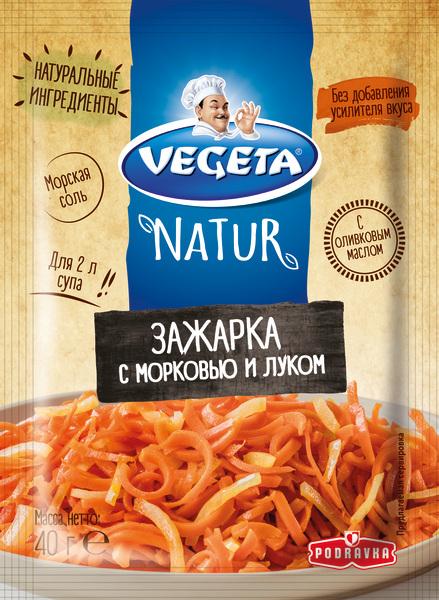 VEGETA NATUR ЗАЖАРКА с морковью и луком