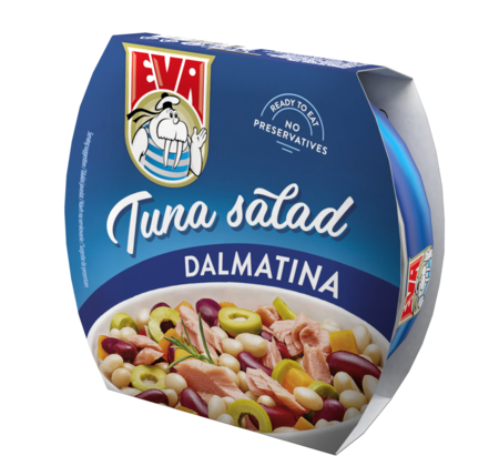 Eva salata de ton Dalmata