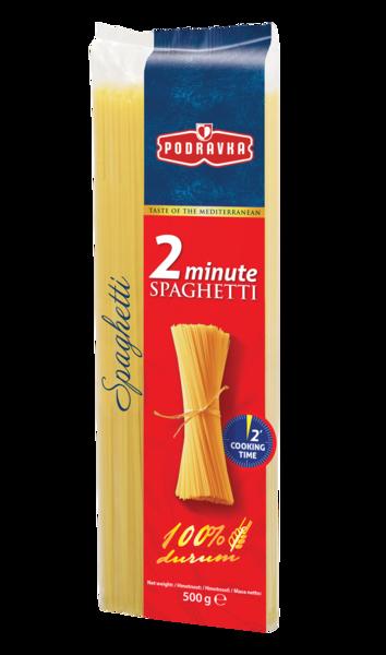 Spaghetti 2-minútové
