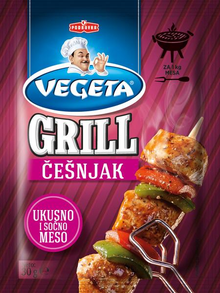 Vegeta grill garlic