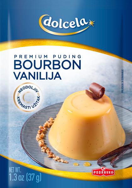 Bourbon vanilla premium pudding