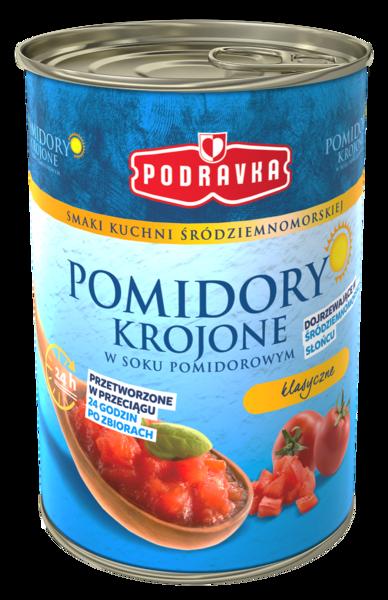 Pomidory krojone klasyczne w puszce