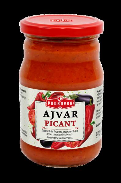 Ajvar Zacusca picanta de ardei rosii