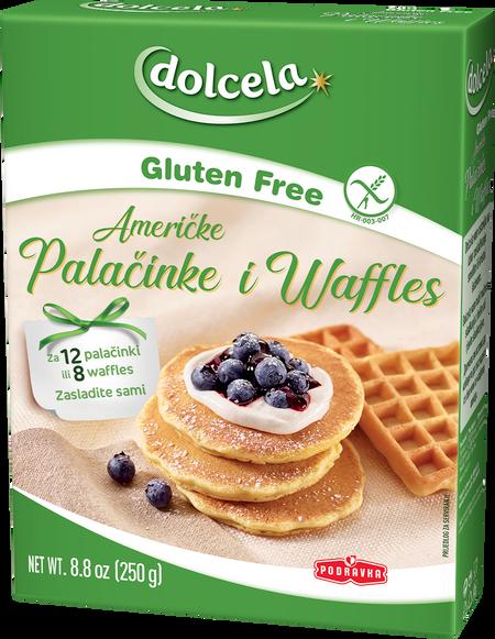 Američke palačinke i waffli bez glutena