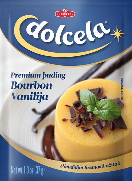 Puding bourbon vanilja premium
