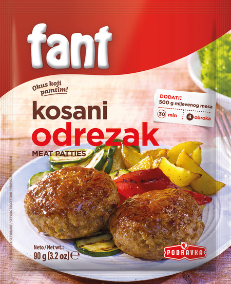 Fant seasoning mix for meat patties