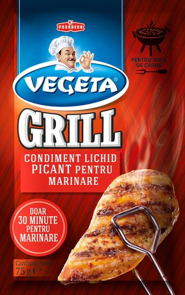 Vegeta Grill Condiment lichid picant pentru marinare