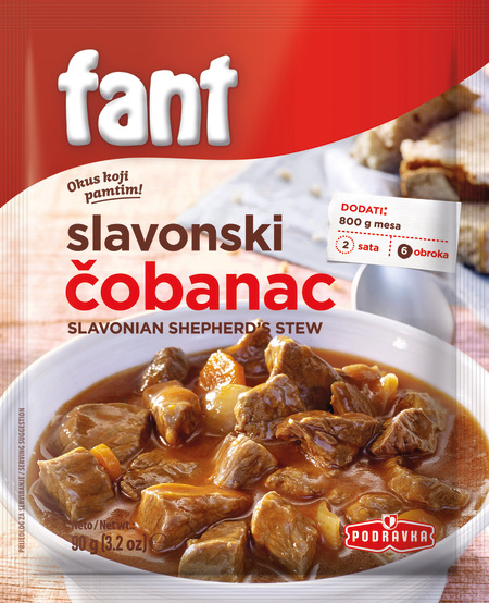 Fant slavonian shepherd's stew