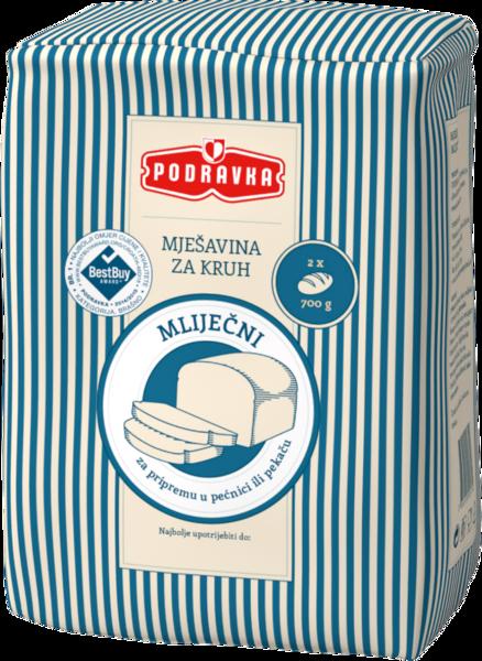 Milk- bread mix