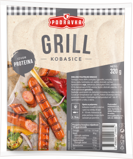 Grill sausages