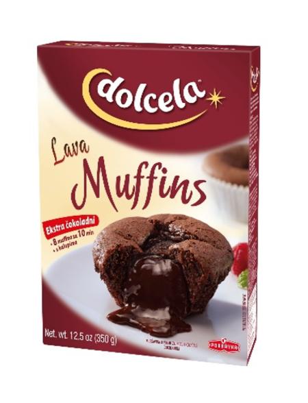 Lava muffins