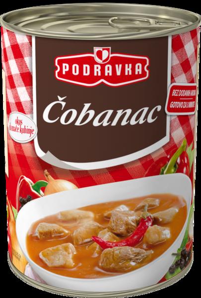 Čobanac (Slavonian shepherd's stew)