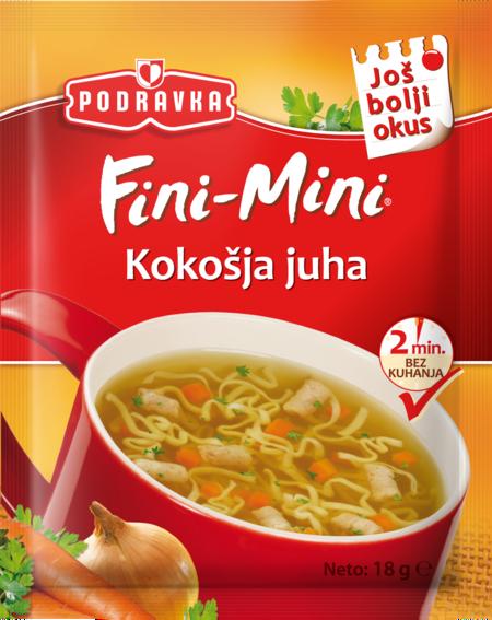 Fini Mini Chicken soup