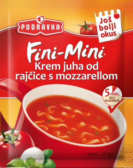 Fini Mini Tomato with Mozzarella Cream Soup