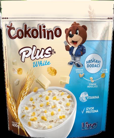 Čokolino Plus white