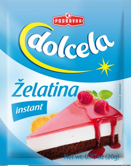 Instant gelatin